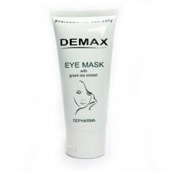 Маска от отеков и темных кругов для орбитальной зоны Демакс Eye Mask With Green Tea Extract Demax