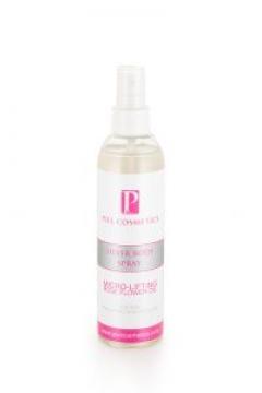 Спрей для тела с эффектом микролифтинга с эфирным маслом розы Пьель косметикс Silver Body Spray Piel cosmetics