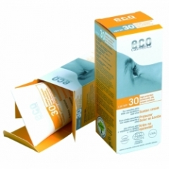 Солнцезащитный крем SPF 30 с экстрактом граната и облепихи Эко косметика Eco Suntan Cream SPF30 Eco Cosmetics