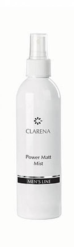 Освежающий, матирующий спрей для мужчин Кларена Power Matt Mist  Clarena