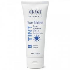 Тонирующий солнцезащитный крем SPF 50 с холодным оттенком Обаджи Sun Shield Tint Broad Spectrum SPF 50 COOL Obagi