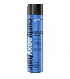 Шампунь для кудрей без сульфатов и парабенов Секси Хаир Curly Color Safe Curl Defining Shampoo Sexy Hair