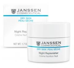 Питательный ночной регенерирующий крем Янссен Night Replenisher Janssen