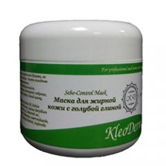 Маска для жирной кожи с голубой глиной Клеодерма Sebo-Control Mask KleoDerma