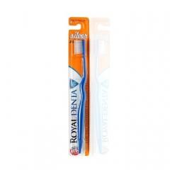 Мягкая зубная щетка с наночастицами серебра Роял Дента Silver mini Royal Denta