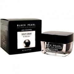 Ночной крем для лица против морщин Си Оф Спа Black Pearl Age Control Night Cream Sea Of Spa