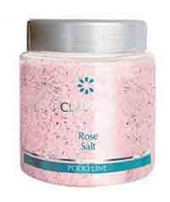 Соль с экстрактом розы для ванночек Кларена Podo Line Rose Salt Clarena
