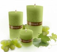 Ароматерапевтическая свеча Греческий аромат Органик Candle Cylinder Greek Organique