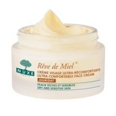 Медовая мечта ультра комфорт дневной крем для лица Нюкс Reve de Miel Ultra comfortable face cream day Nuxe