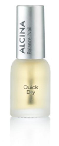 Средство для ускорения высыхания лака для ногтей Альцина Balance Nail Nail Quick Dry – Schnelltrockner Alcina