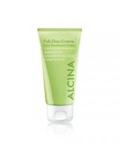 Кремовый дезодорант для ног Альцина Foot Deodorant Cream Alcina