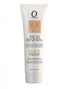 Питательный крем с ароматом ванили и белого чая Орли Rich Renewal Peace Orly
