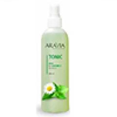 Тоник для очищения и увлажнения кожи с мятой и ромашкой Аравия Профешнл Tonic Mint and Chamomile Extracts Aravia Professional
