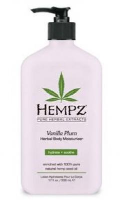 """Увлажняющее молочко для тела """"Ваниль-слива"""" Хемпз Vanilla Plum Herbal Body Hempz"""