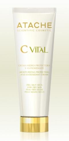 Увлажняющий защитный антиоксидантный крем для очень сухой кожи Атаче Hidroprotective and Antioxidant Cream Normal and Dry skin Atache