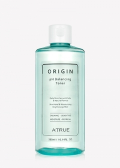 Гипоаллергенный балансирующий тонер Origin pH Balancing Toner A-True