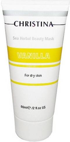 Ванильная маска красоты для сухой кожи Кристина Sea Herbal Beauty Mask Vanilla Christina