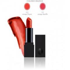 Матовая губная помада с интенсивным и питательным действием Сотис Rouge Intense Coloris Orange Satin Lipstick Sothys