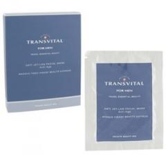 Омолаживающая матирующая антистресс маска для мужчин Трансвитал Anti Jet-Lag Facial Mask Transvital