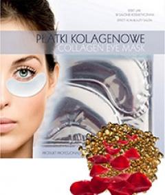Коллагеновый пластырь для глаз против отеков и темных кругов Бьюти Фейc Kolagen poprawka oka przed opuchliznе i cienie Beauty face
