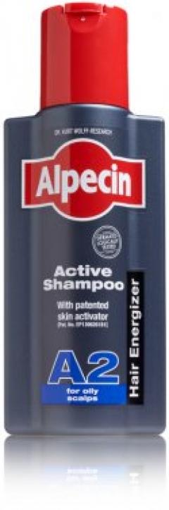 Шампунь для жирной кожи головы Альпецин A2 Active Shampoo Alpecin