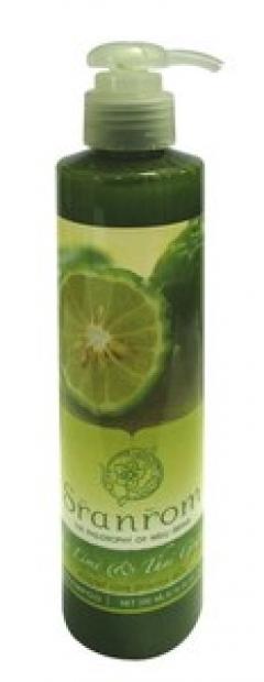Шампунь для волос Лайм и грейпфрут Сранром Kaffir Lime & Thai Grapefruit Shampoo Sranrom