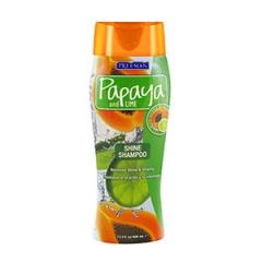 Шампунь для блеска волос Папайя и Лайм Фриман Papaya and Lime Shine Shampoo Freeman