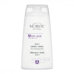 Очищающее, увлажняющее и тонизирующее средство для зрелой кожи 3 в 1 Норел Anti-Age - 3 in 1 Lotion-tonic Norel