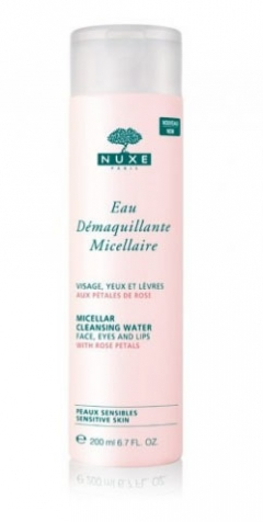 Мицеллярная вода Нюкс Soins Demaquillants Micellar cleansing water Nuxe