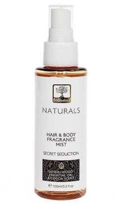 """Парфюмированный спрей для тела и волос """"Тайна соблазна"""" БиоСелект Naturals Fragrance Mist BIOSelect"""