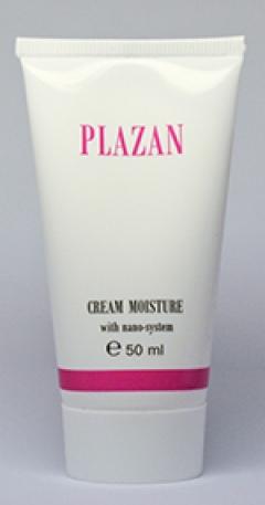 Крем увлажняющий дневной для лица с Нано-системой Плазан Moisturizing cream daily facial Nano- system Plazan