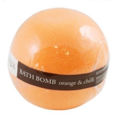 Шипучий шар для ванны Апельсин и чили Органик Bath Bomb Orange & Chilli Organique