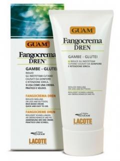 Фанго крем с дренажным эффектом Гуам Fangocrema Dren Guam