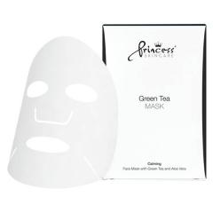 Маска для лица на нетканой основе с экстрактом зелёного чая Принцесс FACE MASK WITH GREEN TEA Princess
