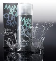 Мягкий гелевый пилинг для очистки пор кожи лица и тела Доктор Шпиллер Gentle Face & Body Peeling Gel Dr Spiller Biocosmetic