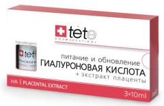 Гиалуроновая кислота + Экстракт плаценты Тете Hyaluronic Acid + Placental Extract Tete