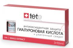 Гиалуроновая кислота + Улиточный Секрет Тете Hyaluronic Acid + Snail Extract Tete