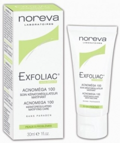 Акномега 100 Эксфолиак Acnomega 100 matifying care Exfoliac
