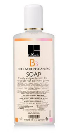 Очищающий гель для проблемной кожи глубокого действия Доктор Кадир В3 Deep Action Soapless Soap For Problematic Skin Dr. Kadir