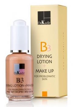 Тонирующая подсушивающая эмульсия для проблемной кожи Доктор Кадир B3-Drying Lotion+Make Up Problematic Skin Dr. Kadir
