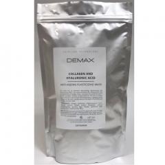 Пластифицирующая альгинатная антивозрастная маска с коллагеном и гиалуроновой кислотой Демакс Collagen And Hyaluronic Acid Anti-Ageing Plasticizing Mask  Demax