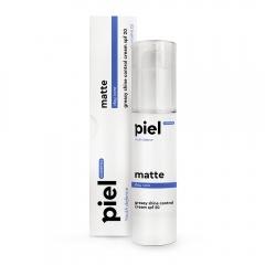 Увлажняющий дневной крем с матирующим эффектом Пьель косметикс Youth Defence Silver Cream MATTE Piel cosmetics