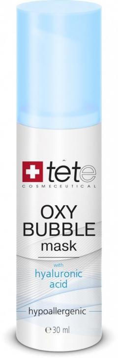 Кислородно-пенная маска Тете Oxy Bubble Mask Tete