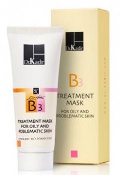 Лечебная маска для проблемной и жирной кожи Доктор Кадир В3 Treatment Mask For Problematic Skin Dr. Kadir