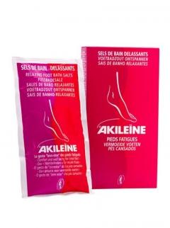 Освежающая соль для расслабления стоп Асепта Akileіne Red Relaxing Bath Salts Asepta