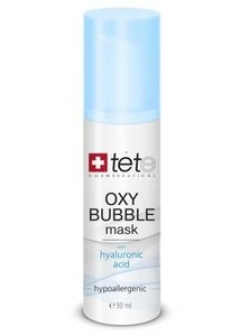 Кислородно-пенная маска Тете Oxy Bubble Mask Tete