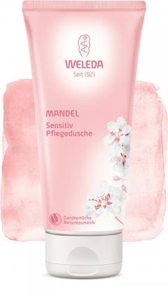 Миндальный крем-гель для душа для чувствительной кожи Веледа Sensitive Pflegedusche Weleda